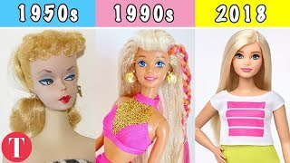 The Evolution Of The Barbie Doll From the 1950s To Today