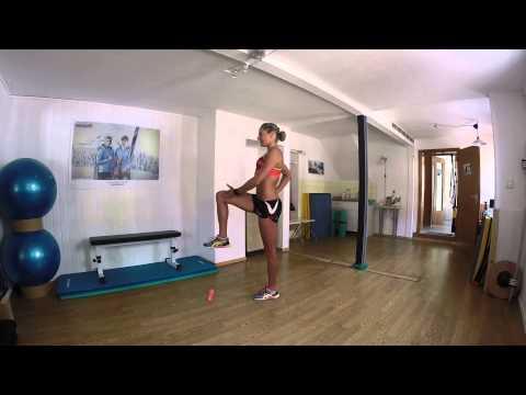 Bewegungstherapie in Brust und Hals-Osteochondrose Übungen