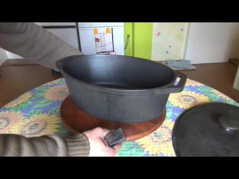 Bräter Oval Gusseisen ,Schmortopf,Gussbräter,Cast iron pot