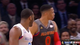 Russell Westbrook SHOVES John Wall, Doesn