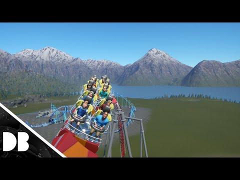 Snakes tongue/planet coaster/Mack hypercoaster