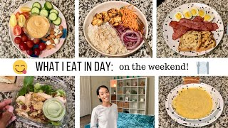 WHAT I EAT IN A DAY 2019 //