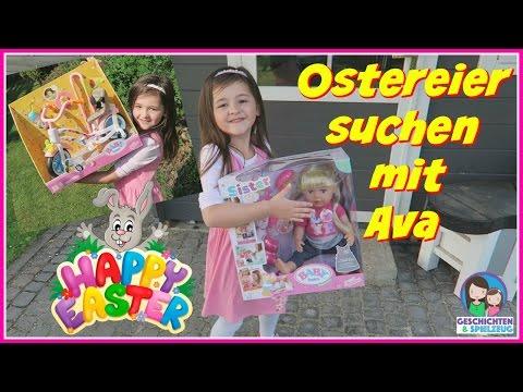 Der Osterhase war da 🐰 Ava sucht ihre Ostergeschenke 💕 FROHE OSTERN 2017