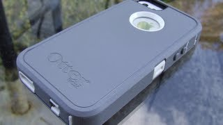 Unboxing iPhone 5 Otterbox Defender Glacier [White/Grey]