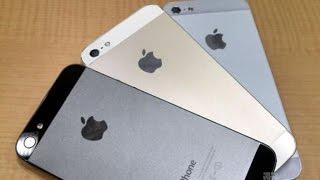 Честное сравнение китайского iPhone 5s (android) с  оригинальным iPhone 5s