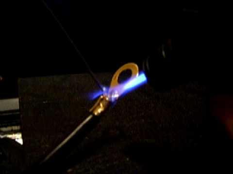 10mm² Kabelschuh verlöten