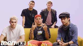 CNCO Plays I Dare You | Teen Vogue