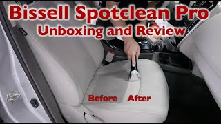 Bissell Spotclean Pro Carpet Cleaner Unboxing and Demonstration