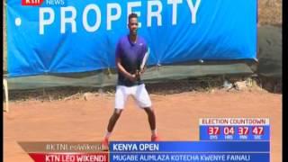 Duncan Mugabe ashinda Kenya Open kwenye mchezo wa tennis