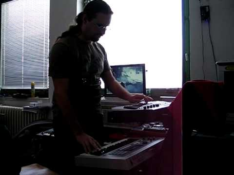 Insania - Zkouška zvuku syntezátorů