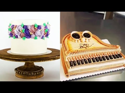 Gorgeous piano cake and heart 2020 / CAKE WORLD
