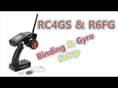 RC4GS and R6FG for RC car from banggood