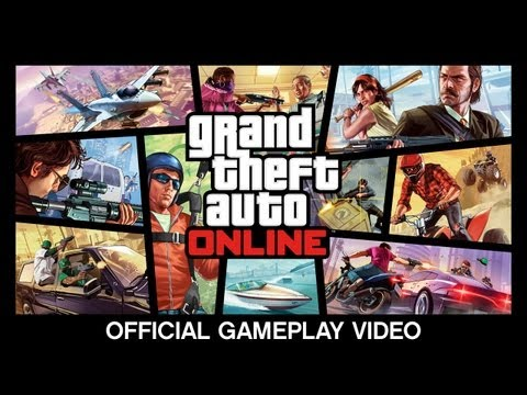 Grand Theft Auto V Online Multiplayer Demo Looks Incredible