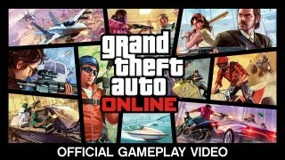 Watch the GTA Online Official Gameplay Video