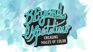 Mister Mann Frisbee - BEyond Expectations: Engaging Males of Color