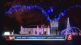Lawson Home Wins Holiday Lights Contest