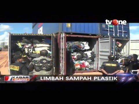 Petugas Bea Cukai Batam Gagalkan Upaya Penyelundupan Puluhan Kontainer Sampah