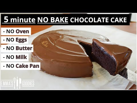 5 Minute CHOCOLATE CAKE ! NO Oven – NO Pan – Easy Chocolate Cake Recipe