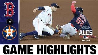 Red Sox vs. Astros ALCS Game 6 Highlights (10/22/21)   MLB Highlights