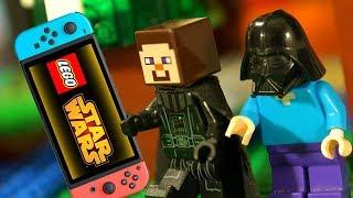 Кока Майнкрафт Лего Нубик Мультфильмы LEGO Minecraft Star Wars Animation Мультики для Детей