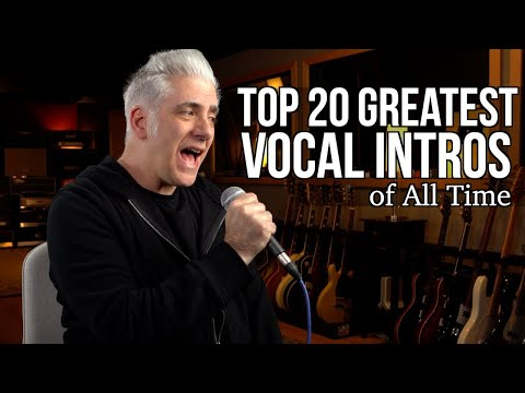 Download TOP 20 GREATEST VOCAL INTROS OF ALL TIME Mp4 HD Video and MP3