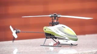 XK Falcon K100 RC Mini 3D Electric Helicopter Full Review