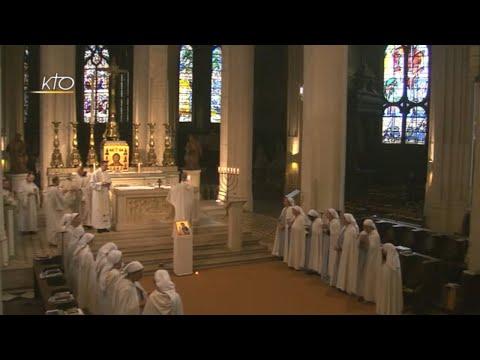 Vêpres et messe du 16 juin 2018