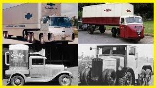 Strange and Unusual Vintage Trucks.