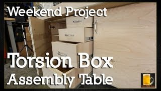 How to build a Torsion Box Assembly Table