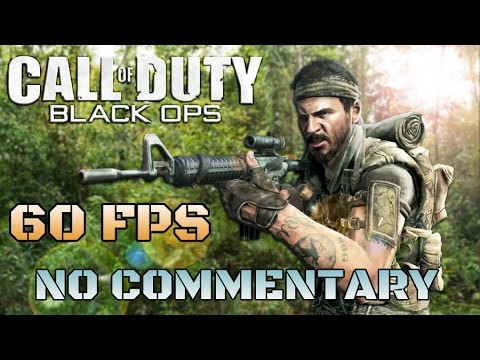 Call of Duty: Black Ops - Full Game Walkthrough  【NO Commentary】 【60FPS】