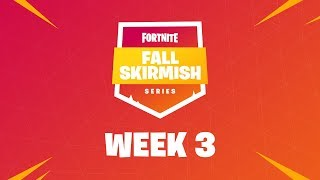 Fortnite #FallSkirmish - Week 3 | Kingpin (DUOS)