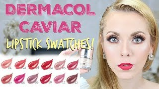 DERMACOL Maquillaje Corrector Caviar Long Stay + Labiales Indelebles 16H Lipcolour