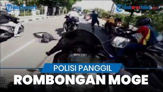 Hari Ini, Rombongan Pengendara Moge yang Ditendang Paspampres Dipanggil Polisi