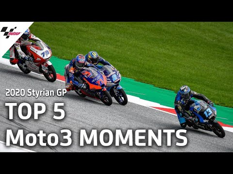 Moto3 スティリアGP 決勝レースハイライト動画【MotoGPを無料で楽しめる無料動画】
