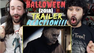 HALLOWEEN (2018) - Official TRAILER REACTION & REVIEW!!!