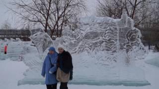 Ледяной городок Новосибирск 2017