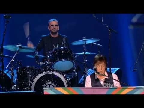 The Beatles: The Night That Changed America - Hey Jude - exerpt from Beatles Salute - Paul & Ringo