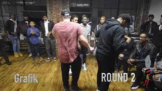 Be Civil Battles - GRAFIK vs JUJU (Dance Battle)