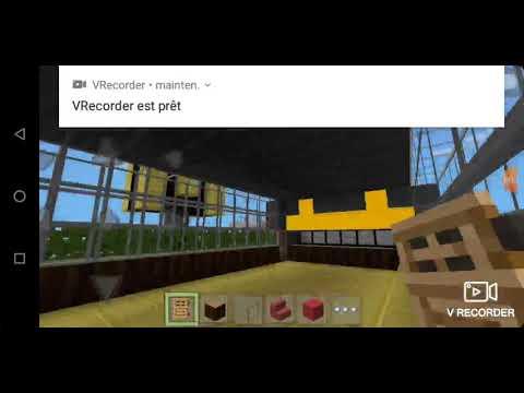 Je fini de décore le mc Donald et je construit une maison Minecraft