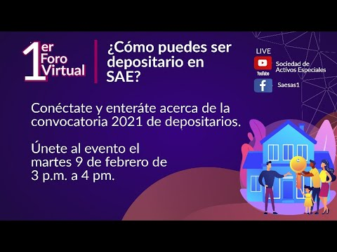 1er Foro Virtual - Convocatoria Depositarios 2021