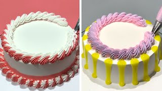 Amazing Cake Decorating Tutorials For Weekend | Most Satisfying Chocolate Cake Recipes | So Yummy