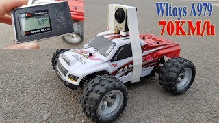 Unboxing - Speed Test WLToys A979 70KM/h Off Road RC Truck