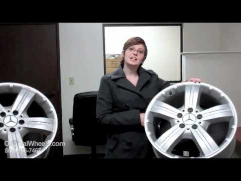 GLK Class Rims & GLK-Class Wheels - Video of Mercedes Factory, Original, OEM, stock new & used rim