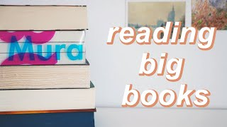 trying to end my fear of big books!!!