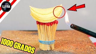 MIRA LO QUE PASA SI QUEMAS PATATAS FRITAS PRINGLES!!! By LlegaExperimentos