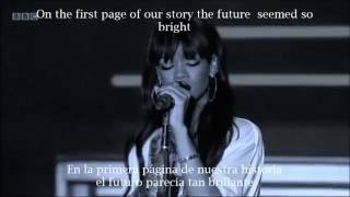 Rihanna- Love the way you lie part 2 (Lyrics inglés español)