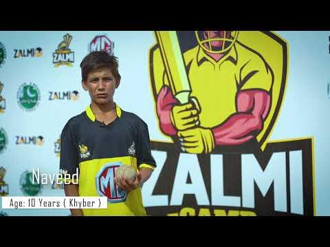 MG Zalmi Camp | 10 year old Naveed