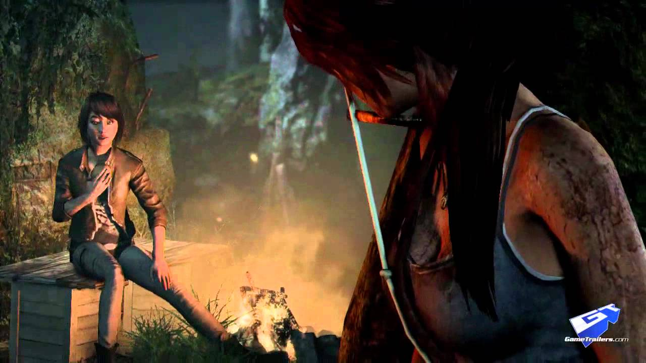 Lara Croft Takes An Absolute Beating In This Tomb Raider Gameplay Trailer