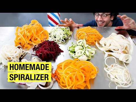 How to Make Vegetable Noodles Without a Spiralizer !