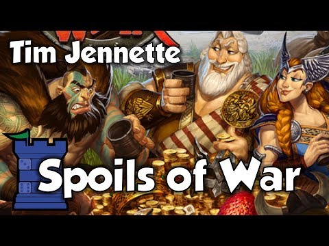 The Dice Tower:  Spoils of War review with Tim Jennette